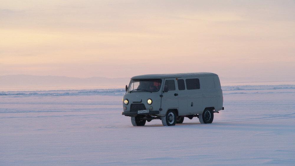 Ice Man of Baikal